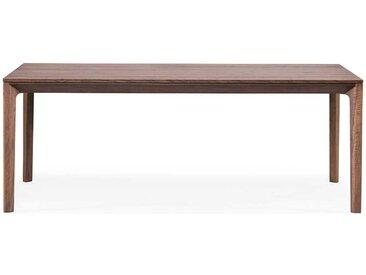 Holztisch aus Nussbaum Massivholz handgearbeitet