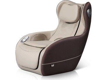 Massagesessel in Braun und Beige Lautsprecher