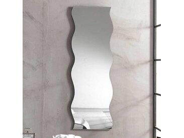 Wandspiegel in Wellenform 50 cm breit