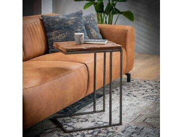 Couch Anstelltisch aus Recyclingholz Metall