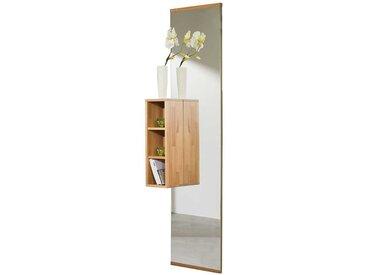 Spiegel mit Regal Kernbuche Massivholz