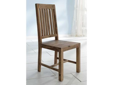 Echtholzstuhl Set aus Sheesham Massivholz handgearbeitet (2er Set)