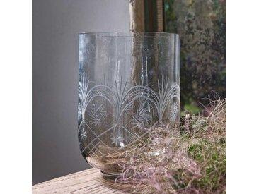 Deko Vasen Set aus Glas Hellbraun (2er Set)