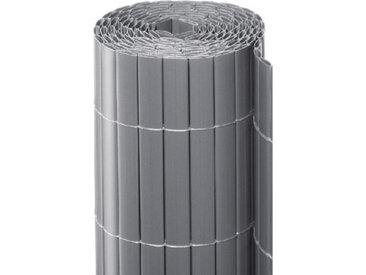 Noor Sichtschutzmatte PVC silber 2x3m