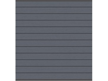 System WPC Zaunfeld-Set anthrazit 2143  178x184cm