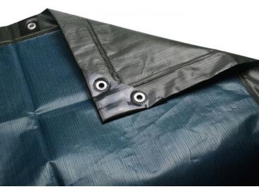 BioGreen Abdeckplane Premium 3x4m dunkelgrün-blau