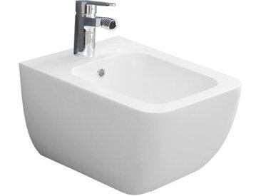 STONEART StoneArt WC Hänge-Bidet TFS-105P weiß 54x38cm glänzend