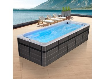 AWT Swim-SPA IN-S06C SilverMarble 588x238 grau