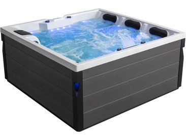 AWT Whirlpool Aussenwhirlpool IN-402 eco extreme Sterling Silver 200x200 grau