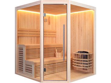 AWT Sauna E1801A Pinienholz 180x180 ohne Saunaofen