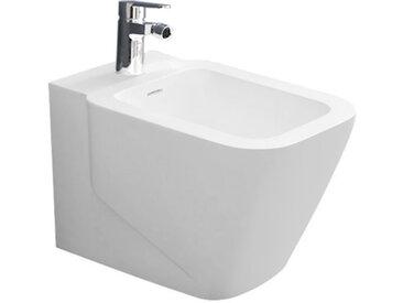 STONEART StoneArt WC Stand-Bidet TFS-201P weiß 56x36cm matt