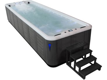 AWT Swim-SPA IN-S07B SilverMarble 700x220 grau