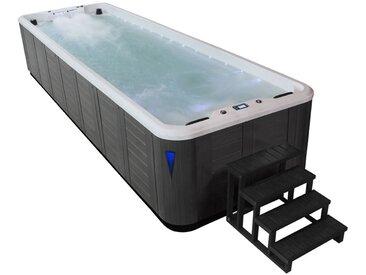 AWT Swim-SPA IN-S07B SilverMarble 700x220 grau