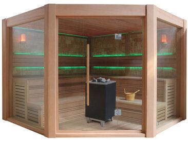 AWT Sauna B1501A rote Zeder 300x300 12kW EOS BiO-Cubo