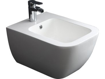 STONEART StoneArt WC Hänge-Bidet TFS-106P weiß 52x37cm glänzend