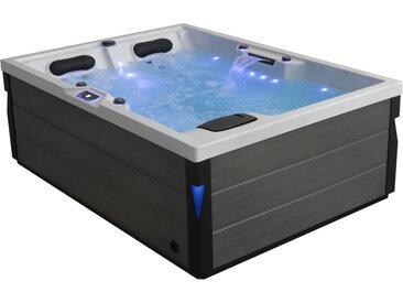 AWT Whirlpool Aussenwhirlpool IN-405 eco Sterling Silver 220x160 grau