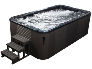 AWT Swim-SPA Innovation 4.0 Pearl Shadow 400x230 grau