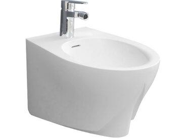 STONEART StoneArt WC Hänge-Bidet TFS-101P weiß 52x37cm glänzend