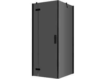 AWT Duschabtrennung LBS0905-B schwarz 90x90 links