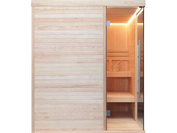 AWT Sauna E1805 Pinienholz 180x180 ohne Saunaofen
