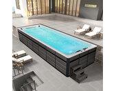AWT Swim-SPA Innovation 800XL-T weiß 800x300 grau