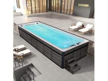 AWT Swim-SPA Innovation 800XL-T weiß 800x300 grau
