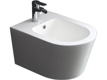 STONEART StoneArt WC Hänge-Bidet TFS-107P weiß 52x37cm glänzend