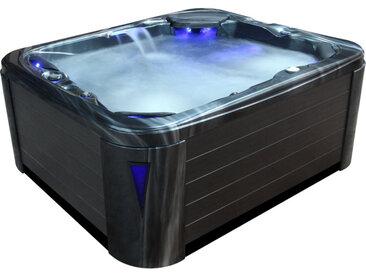 AWT Aussenwhirlpool IN-591 premium extreme CloudyBlack 220x186 grau
