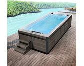 AWT Swim-SPA Innovation 430 weiß 430x230 grau
