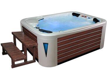 AWT Aussenwhirlpool IN-597 premium extreme WhitePearlescent 212x165 braun