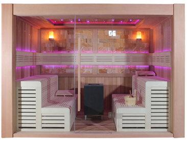 AWT Sauna E1400D rote Zeder 300x200 12kW EOS Cubo