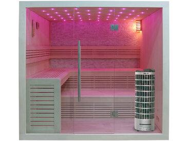 AWT Sauna E1102C Pappelholz 180x150 9kW Cilindro