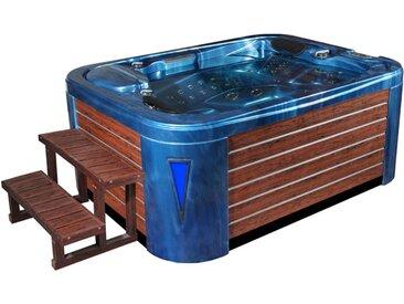 AWT Aussenwhirlpool IN-595 premium OceanWave 200x150 braun