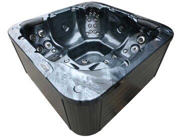 AWT Whirlpool Aussenwhirlpool IN-103 mit Isolierung PearlShadow 215x215 grau