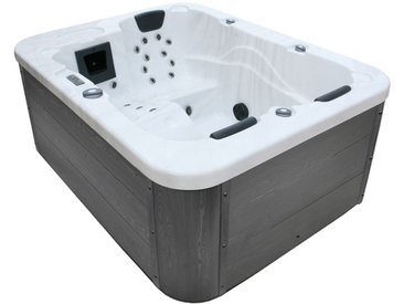 AWT Whirlpool Aussenwhirlpool IN-100 Sterling Silver 210x160 grau