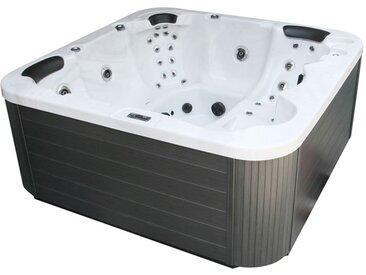 AWT Whirlpool Aussenwhirlpool IN-104 mit Isolierung Sterling Silver 230x230 grau