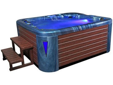 AWT Aussenwhirlpool IN-591 premium OceanWave 220x186 braun