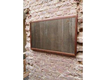 Minimal Echtholz Spiegel,  Wandspiegel 101 x 61 cm