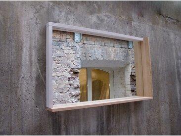 TB.S.3 - Spiegel mit Eiche Rahmen.