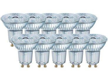 Osram 10er Pack LED BASE PAR16 4,3W = 50W GU10 Strahler 350l...