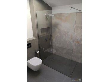 Die bodengleiche Walk-In Dusche ohne Tür