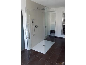 Die freistehende U-Form Dusche