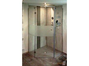 Die Fünfeck-Dusche aus Glas
