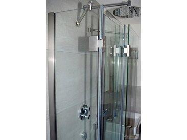 Die Faltbare Duschkabine mit einklappbaren Glaselementen