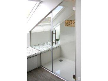Die Nischen-Dusche aus Glas