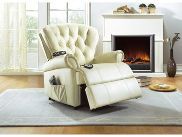 Relaxsessel in verschiedenen Ausführungen, Relax-Sessel, Creme
