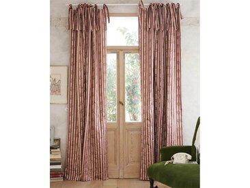 Vorhang Avantgarde - 240cm x 135cm - Beige/Brombeer/Hellgrün/Rosa/Schwarz/Violett - Vorhang: 100% Faux Silk / Abfütterung: 100% Baumwolle