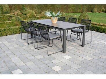 Moderner Gartentisch HPL mit Aluminium Outdoor