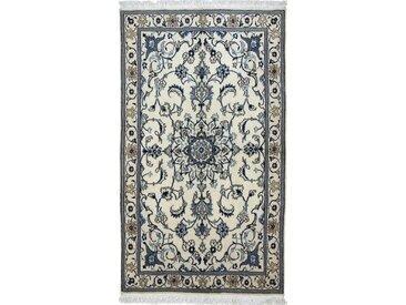 Nain Teppich Persischer Teppich 201x105 cm, Läufer Handgeknüpft Klassisch