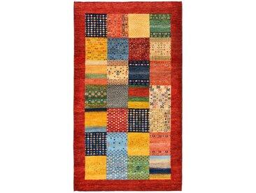 Gabbeh Loribaft Teppich Orientalischer Teppich 163x96 cm, Indien Handgeknüpft Modern